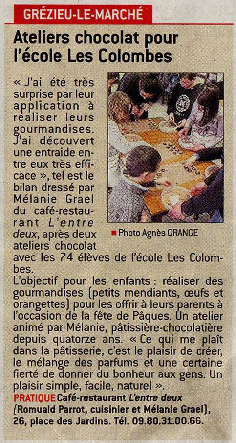 article_le_progres_atelier_chocolats_paques_ edition_grezieu